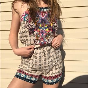 NWT Romper by Flying Tomato